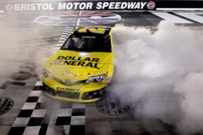 Bristol NASCAR: Matt Kenseth fends off Kasey Kahne for victory