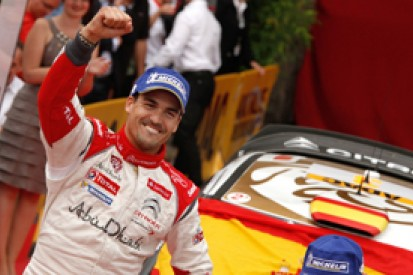Germany WRC: Dani Sordo beats Thierry Neuville to first victory