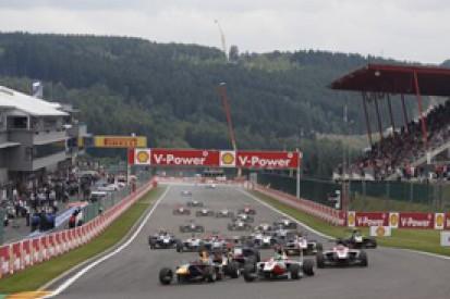 Spa GP3: Daniil Kvyat claims first victory in crash-strewn race