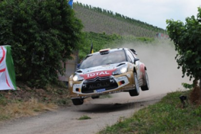 Germany WRC: Dani Sordo leads as support rally fatality curtails day