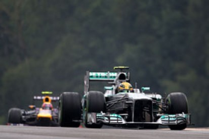 Belgian GP: Lewis Hamilton claims pole in breathtaking qualifying
