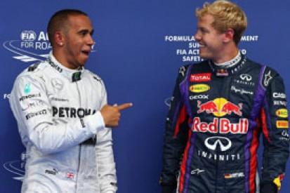 Belgian GP: Red Bull's Vettel and Webber not upset to miss pole