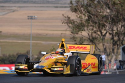 Sonoma IndyCar: Ryan Hunter-Reay fastest in first practice session
