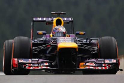 Sebastian Vettel says puncture in F1 Spa GP practice not his fault