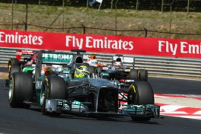 Nico Rosberg says Mercedes not yet F1 title contenders
