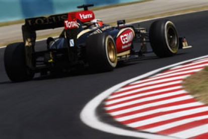 Kimi Raikkonen's priority is to stay at Lotus for F1 2014