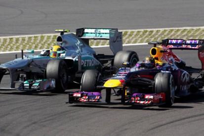 Analysis: Hamilton emerging as Vettel's biggest threat in F1 2013