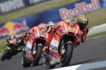 Dovizioso, Hayden: no animosity over last-corner MotoGP Indy clash