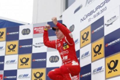Nurburgring Euro F3: Ferrari man Raffaele Marciello takes third win