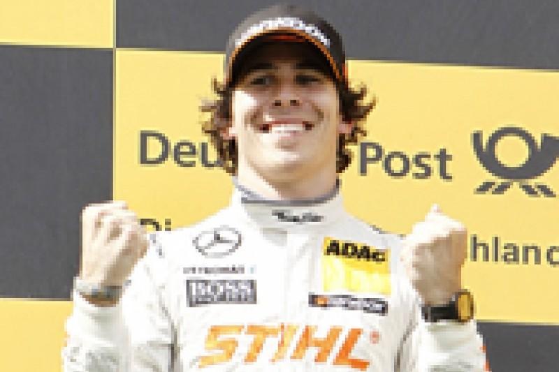 Nurburgring DTM: Robert Wickens takes maiden win in wet/dry thriller