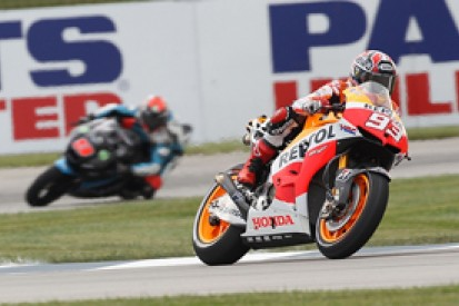 Indianapolis MotoGP: Marc Marquez on top again in practice two