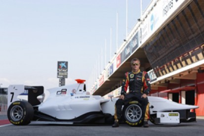 Kimi Raikkonen tests GP3 car
