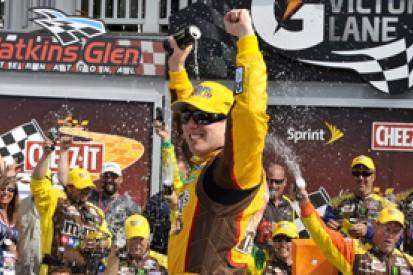 Watkins Glen NASCAR: Kyle Busch resists Brad Keselowski for victory