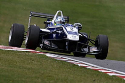 Brands Hatch British F3: Jordan King tops Friday's test sessions