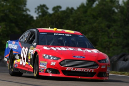 Watkins Glen NASCAR: Carl Edwards leads rain-shortened practice