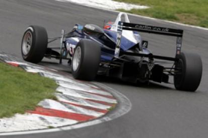 Brands British F3: Jazeman Jaafar claims double pole on return