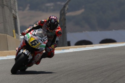 Stefan Bradl says Laguna Seca progress is real