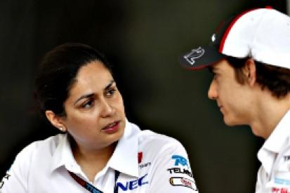 Sauber backs Formula 1 rookie Esteban Gutierrez to score points
