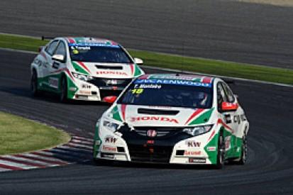 Honda retains Tarquini and Monteiro for 2014 WTCC season