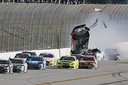 Austin Dillon praises NASCAR safety after Talladega crash