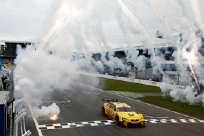 Hockenheim DTM: Timo Glock scores sensational first DTM win for BMW