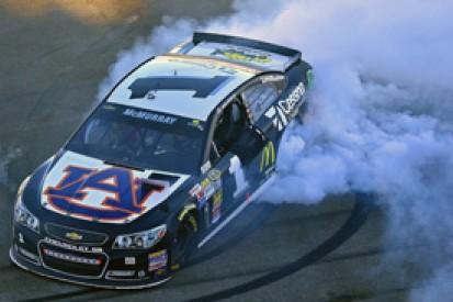Talladega NASCAR: Jamie McMurray takes victory