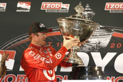 Fontana IndyCar: Scott Dixon claims third title, Will Power wins