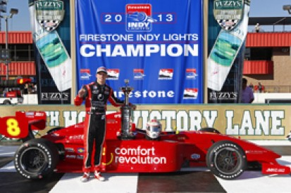 Fontana Indy Lights: Sage Karam takes title, Carlos Munoz wins