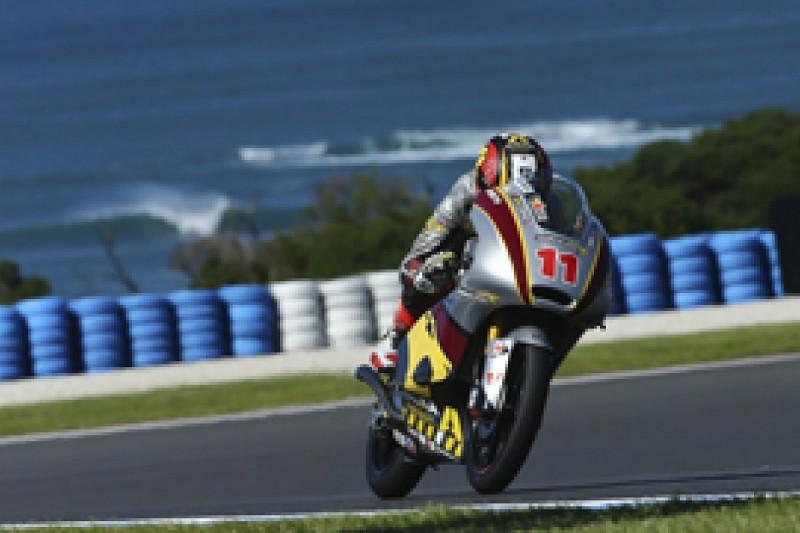 Phillip Island Moto2 race distance halved amid tyre concerns