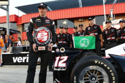 Fontana IndyCar: Will Power takes pole for championship decider