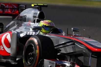 McLaren defends Sergio Perez's performance
