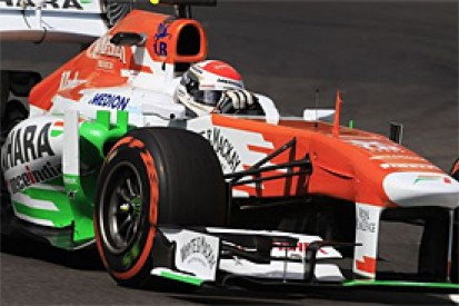 Adrian Sutil says he is likely to stay at Force India for 2014