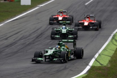 Caterham 'needs luck' to beat Marussia in 2013 Formula 1 standings