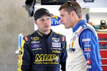 David Ragan, David Gilliland keep Front Row NASCAR Sprint Cup seats