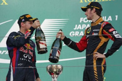 Lotus says it could not have prevented Red Bull's Japan F1 win