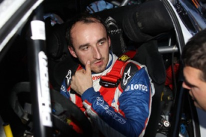 Robert Kubica will only stay in World Rally Championship in top car