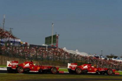 Japanese GP: Fernando Alonso downplays Felipe Massa team orders row