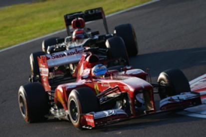 Japanese GP: Fernando Alonso denies title fight still alive