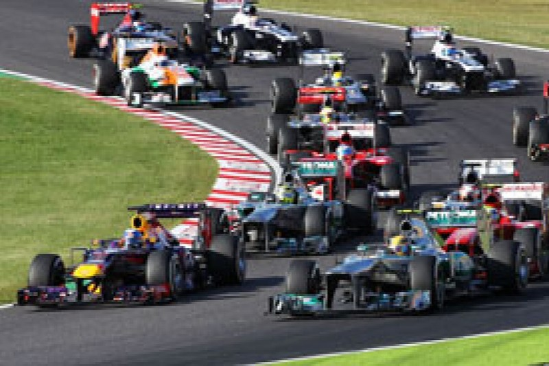 Japanese GP: Sebastian Vettel says Lewis Hamilton clash unavoidable