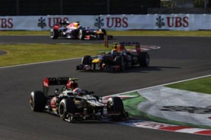 Japanese GP: Romain Grosjean thought breakthrough win on the cards