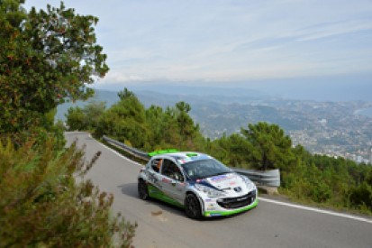 Sanremo ERC: Basso leads as Andreucci hits trouble