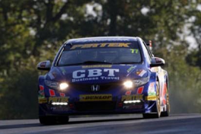 Brands Hatch BTCC: Andrew Jordan tops disrupted practice