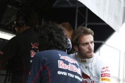 Japanese GP: Jean-Eric Vergne fire due to stuck Toro Rosso brakes