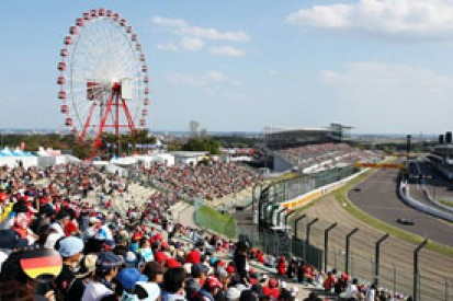Japanese GP: final grid line-up