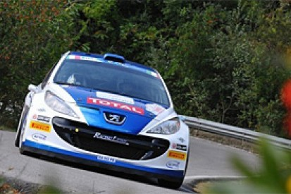 Sanremo ERC: Paolo Andreucci takes early lead