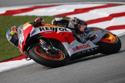 Sepang MotoGP: Dani Pedrosa denies the Yamahas in practice three