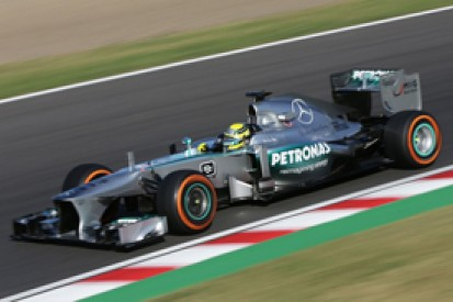 Japanese GP: Nico Rosberg reprimanded for slow driving