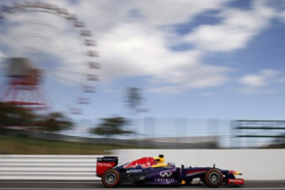 Japanese GP: Sebastian Vettel and Red Bull go top in practice two
