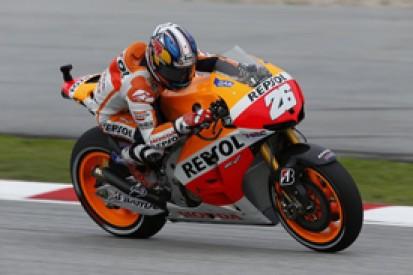 Sepang MotoGP: Dani Pedrosa leads Honda one-two in practice