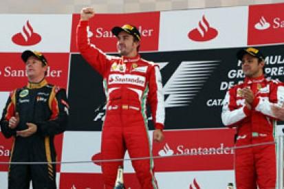 Fernando Alonso: Felipe Massa not slower in F1 than Kimi Raikkonen